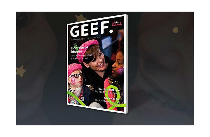 Nieuw digitaal magazine GEEF van Het Vergeten Kind nu te…