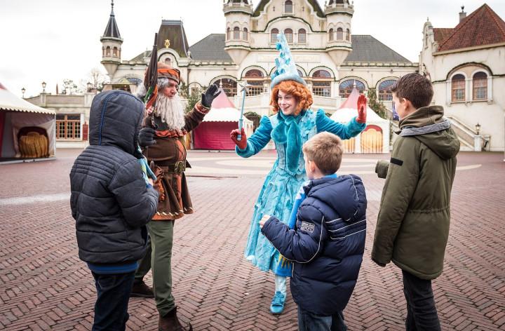 Het Vergeten Kind bezorgt kwetsbare kinderen een hartverwarmende dag in de Winter Efteling