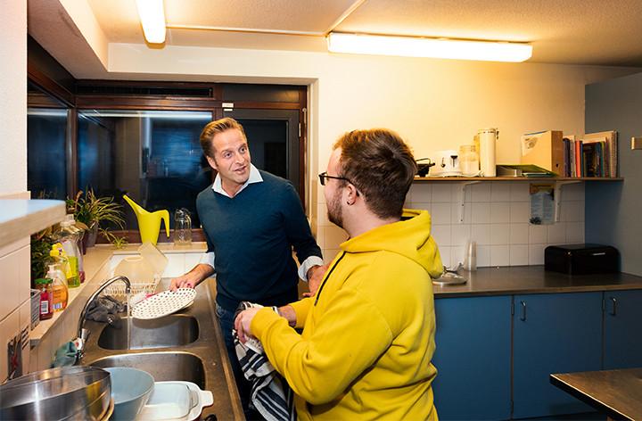 Minister Hugo de Jonge logeert bij Unforgettable Daan