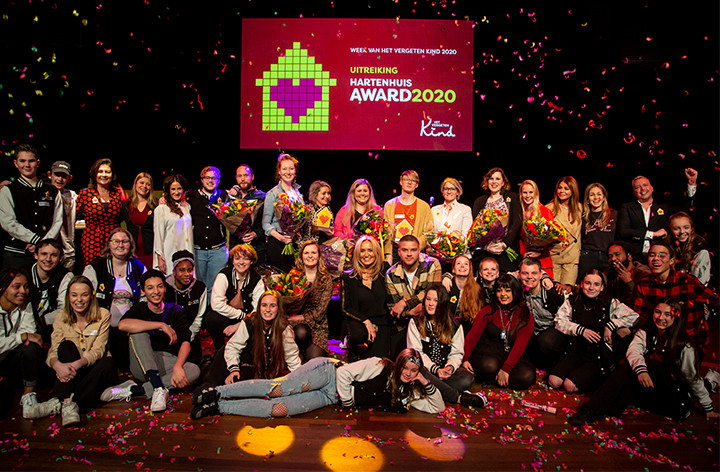 Stichting Het Vergeten Kind reikt Hartenhuis Award uit aan…