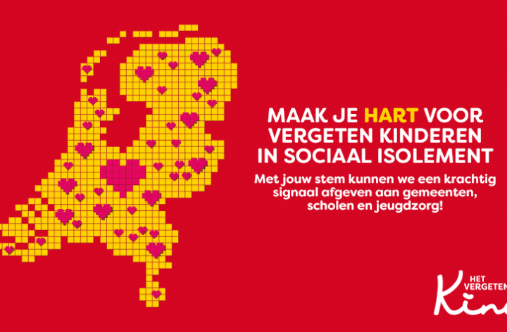 Het Vergeten Kind maakt zich samen met Nederland HART…