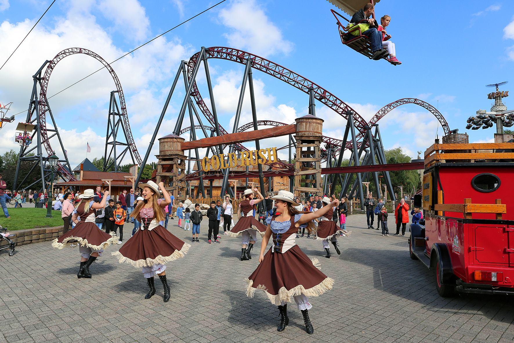 Attractiepark Slagharen dansgroep