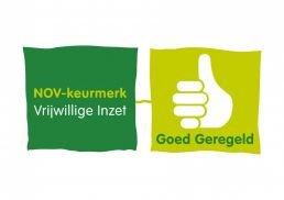Logo NOV Keurmerk Goed Geregeld