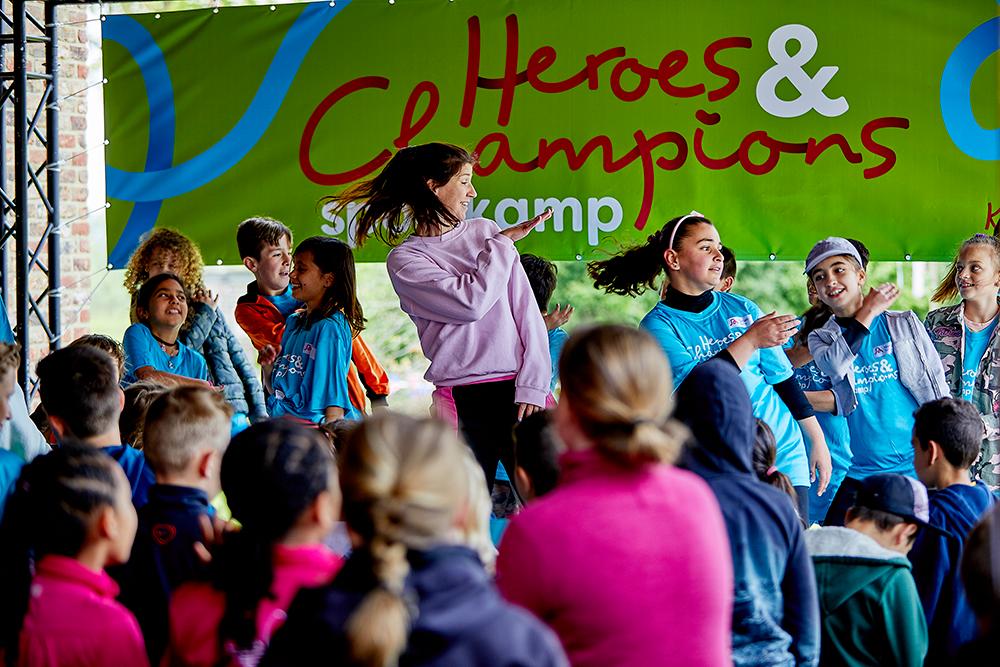 Warming-up Heroes & Champions Het Vergeten Kind