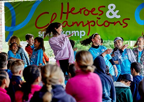 Heroes en Champions Het Vergeten Kind