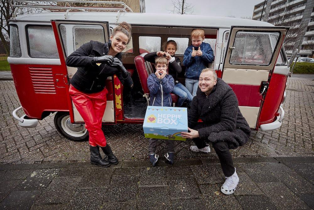 Ambassadeur Angela Schijf - Week van Het Vergeten Kind 2021 - Heppie Box