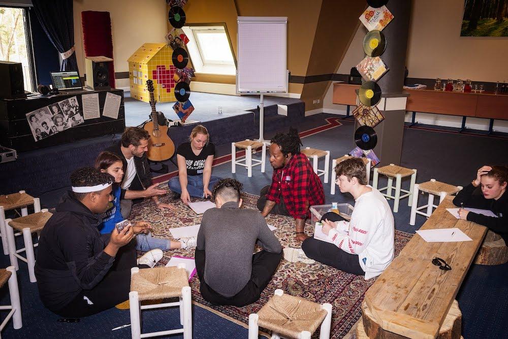 Vriend Glen Faria - Unforgettables Weekend 2019 - Rap Workshop - Het Vergeten Kind